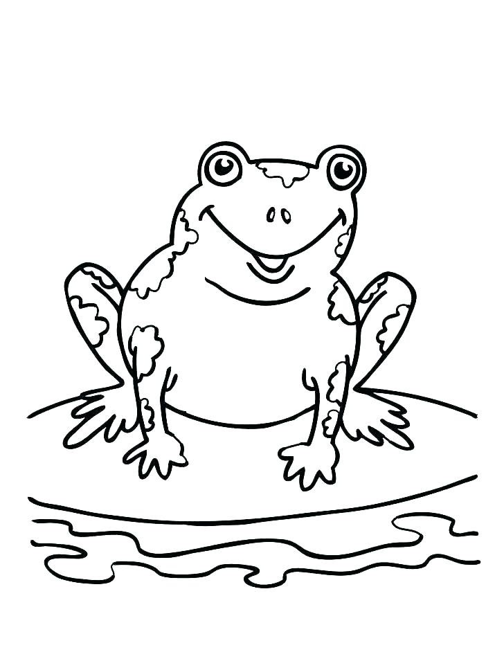 728x968 Coloring Pages Frog Frog Coloring Pictures Coloring Pages As Tree