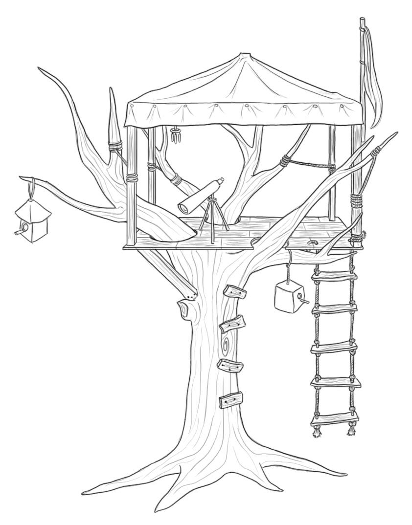 842x1074 Tree House