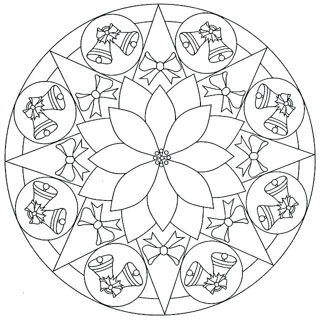 640x640 Mandala Coloring Pages Online Mandala Coloring Pages Online
