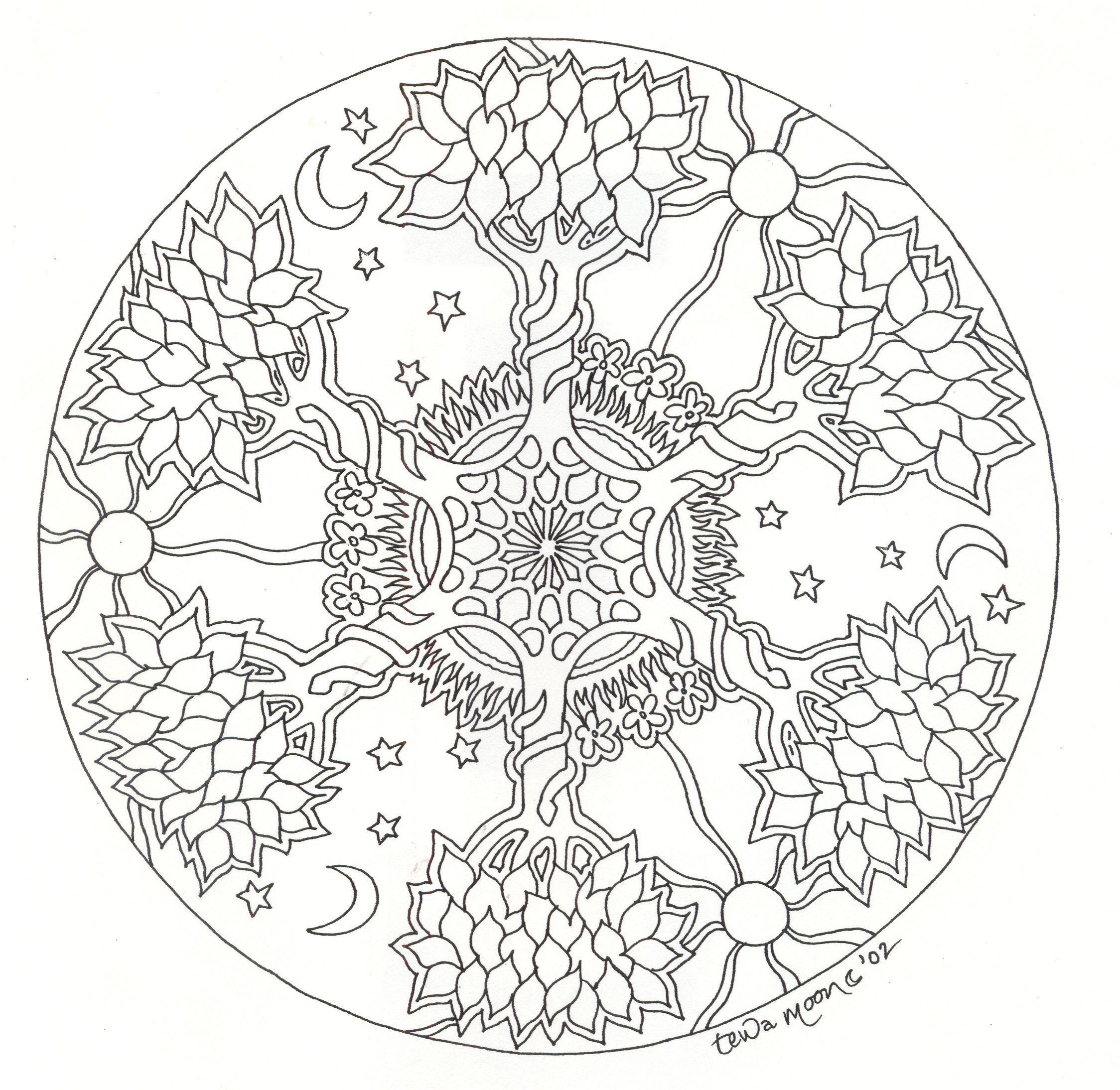 2248x2188 Mandala Arbre