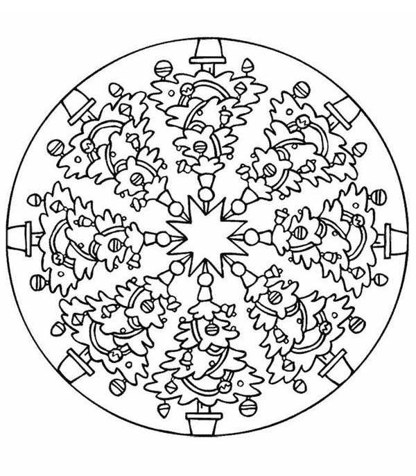 tree mandala coloring pages 28