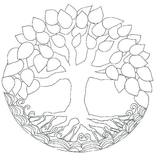 512x503 Tree Of Life Coloring Pages Tree Of Life Coloring Pages Coloring