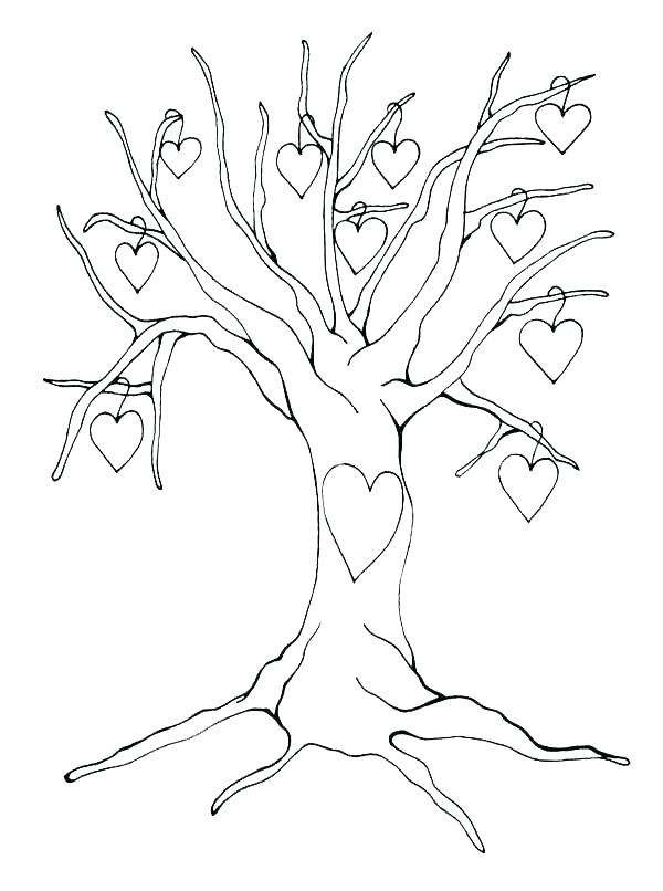 600x806 Tree Of Life Coloring Pages