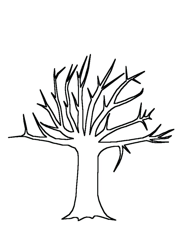 718x957 Coloring Pages Of Peoples Names Tree Trunk