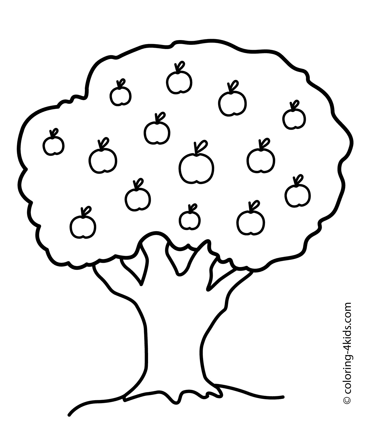 1483x1780 Inspiration Coloring Pages Tree Trunk Fresh Printable Tree
