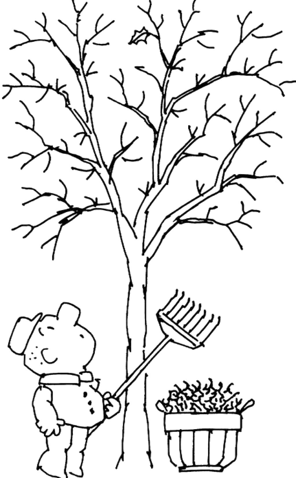 1024x1650 Massachusetts State Tree Coloring Page Free Printable Pages Kids