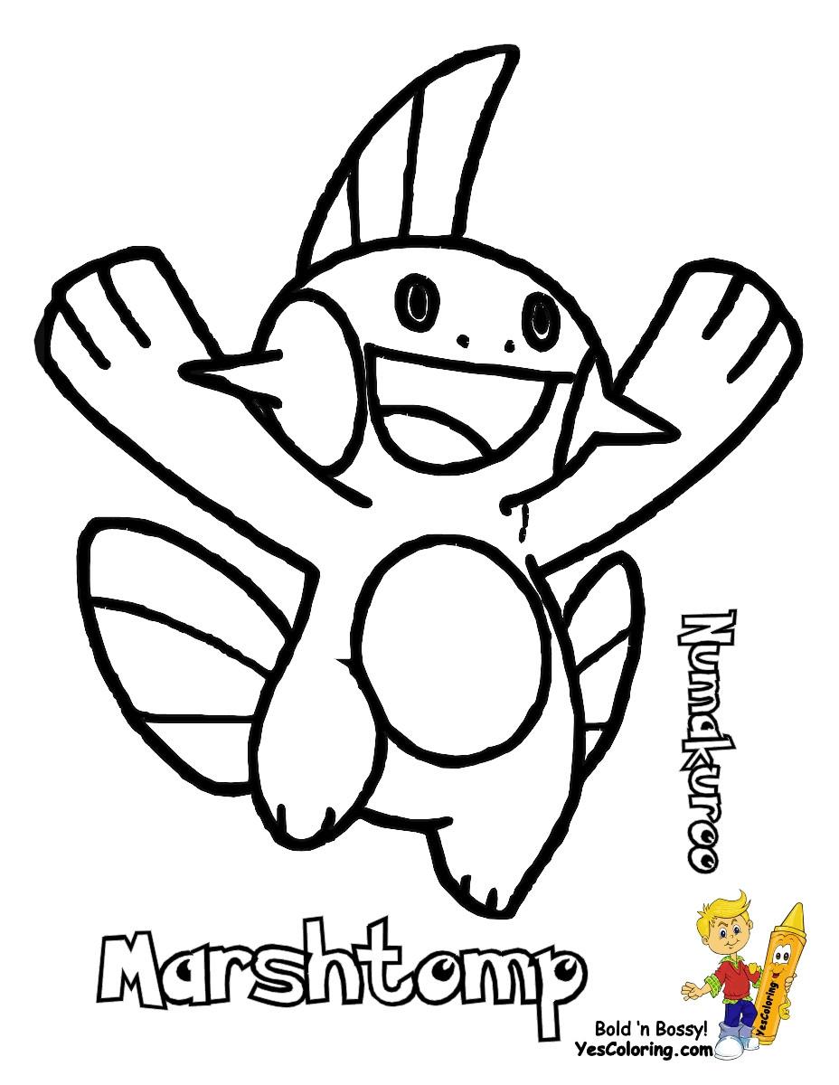 928x1200 Run Boy To Coloring Pages Print Pokemon Treecko Mudkip L