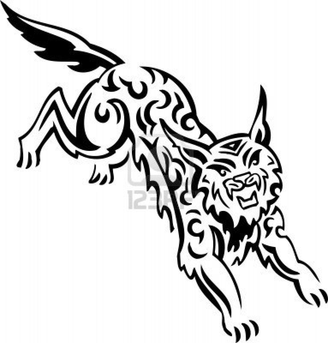 1149x1200 The Best Lynx U Printable Coloring Pages For Tribal Animal Styles