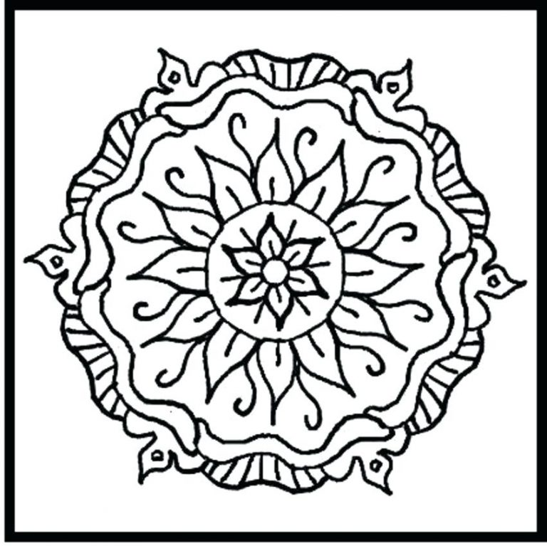 768x767 Tribal Designs Coloring Pages Best Of Design Printable Marvellous