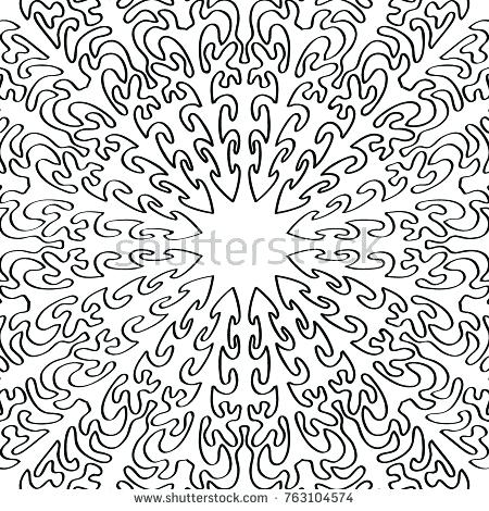 450x470 Intricate Coloring Page Coloring Page For Adults A Part