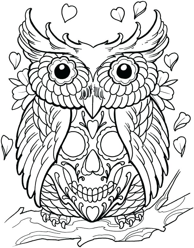 650x828 Tattoo Coloring Pages Printable Tribal Tattoo Coloring Pages Skull