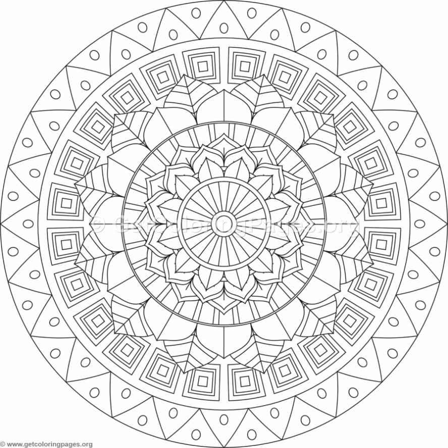 888x888 Adult Coloring Pages Tribal Mandala Coloring Pages