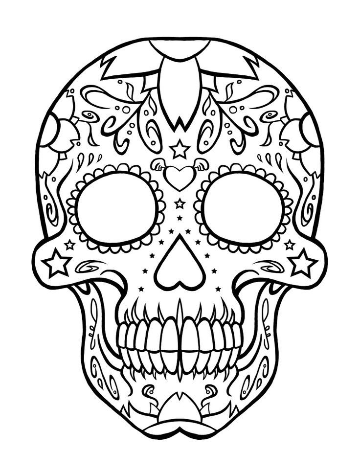 736x969 Skull Coloring Pages Lovely Difficult Tribal Print Coloring Pages