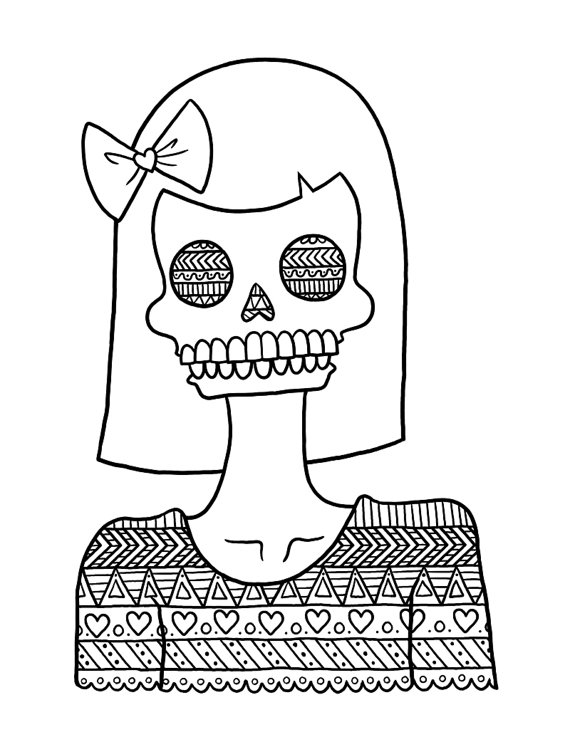 570x737 Tribal Coloring Pages