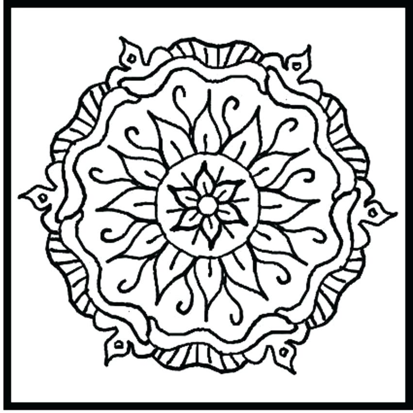 851x850 Tribal Designs Coloring Pages Best