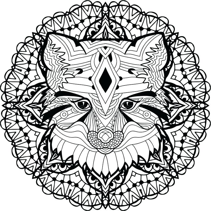 800x800 Tribal Pattern Coloring Pages Professional