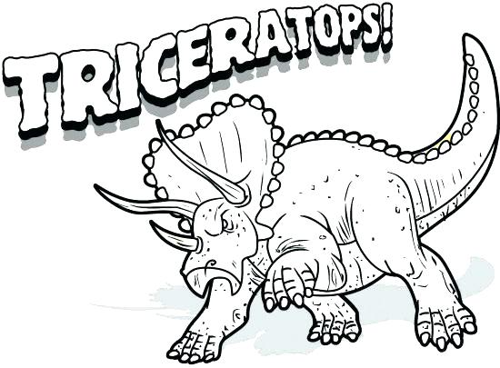 550x405 Triceratops Coloring Pages Excellent Triceratops Coloring Page