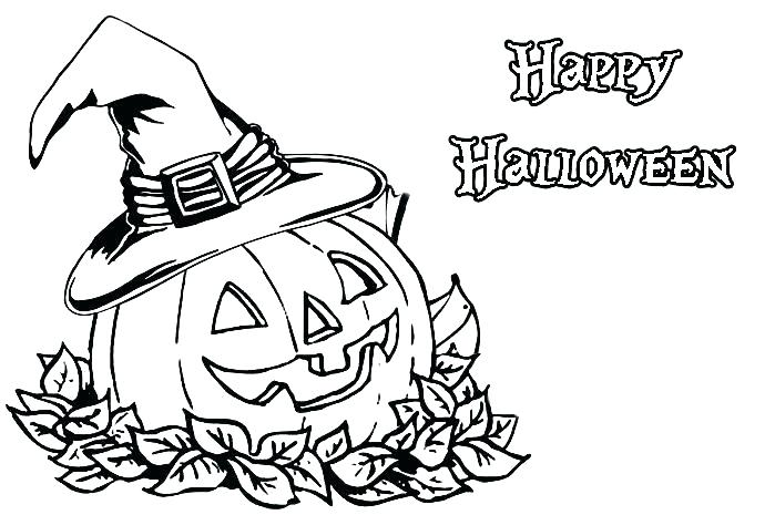 699x465 Trick Or Treat Coloring Pages Trick Or Coloring Page Halloween