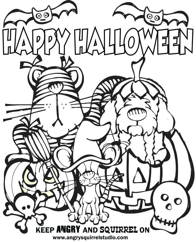 650x800 Trick Or Treat Coloring Pages Trick Trick Or Treat Bag Coloring