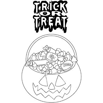 360x360 Trick Or Treat Coloring Pages Fun Free Halloween Coloring Pages