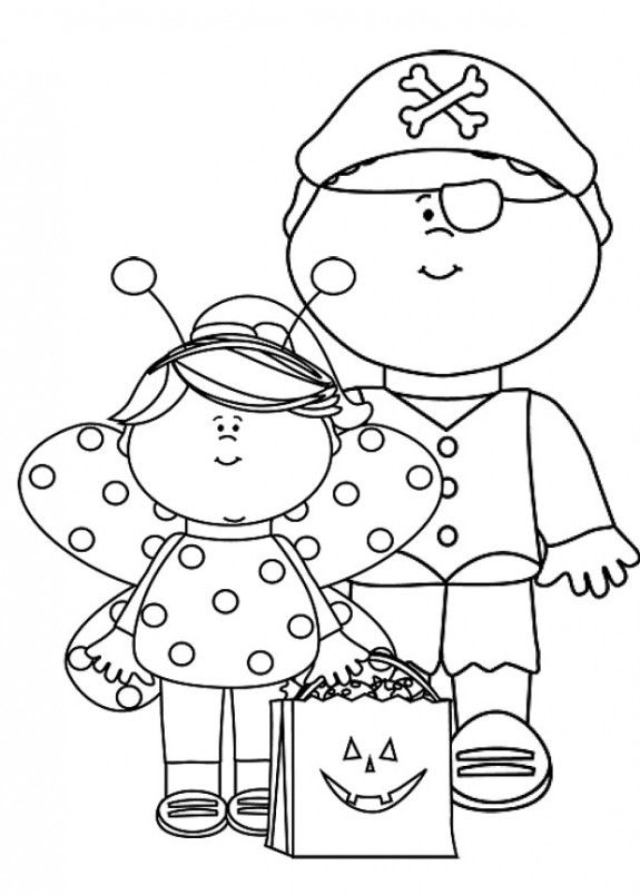 575x804 Free Printable Halloween Coloring Pages Free Printable