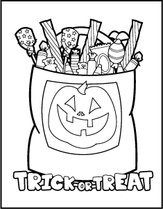 235x302 Free Printable Halloween Coloring Pages! Halloween