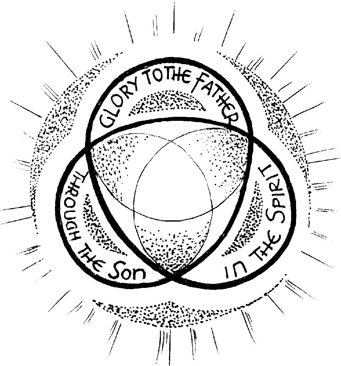 Trinity Coloring Pages