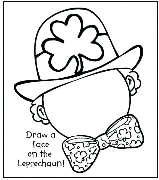 618x698 Shamrock Coloring Page Shamrock Trinity Coloring Page Coloring