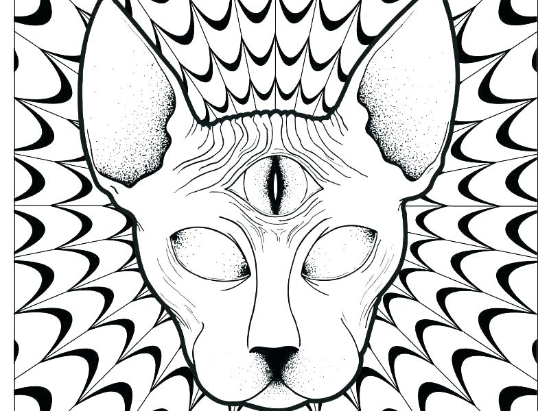 800x600 Trippy Coloring Page Coloring Pages Psychedelic For Adults Trippy