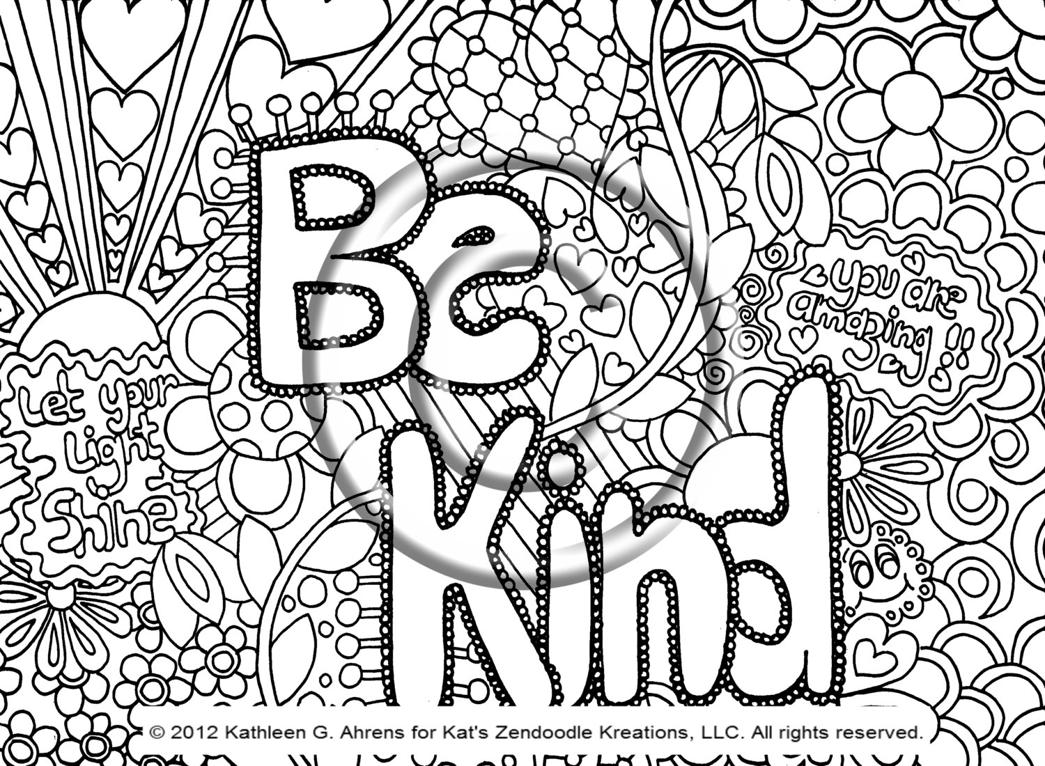 Trippy Coloring Pages Printable For Adults At Getdrawings Com Free