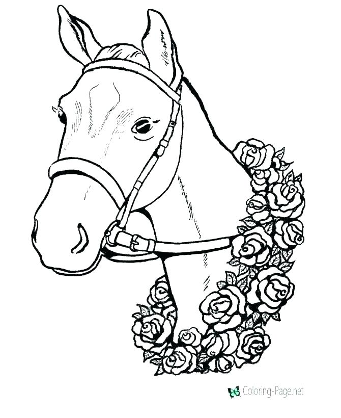 670x820 Coloring Page Of Horse Baby Horse Coloring Pages Coloring Page