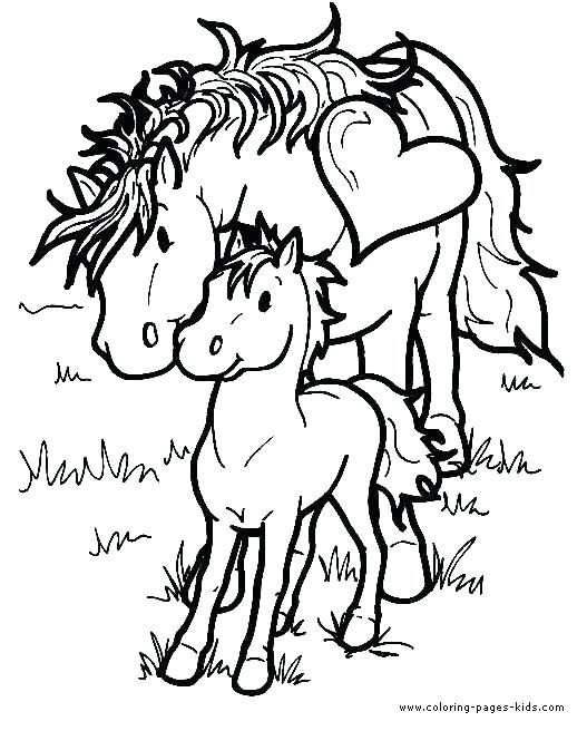 527x656 Coloring Page Of Horse Horse Coloring Pages Animals Horses Horse