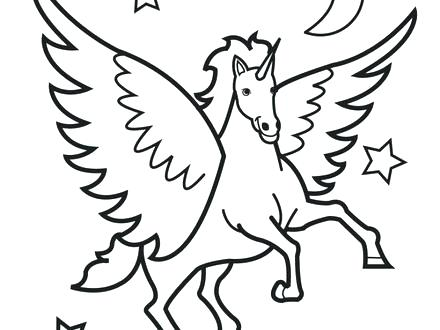 440x330 Horse Coloring Sheet Galloping Horse Horses Coloring Page