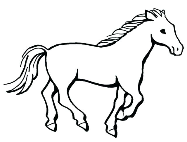 640x489 Mustang Horse Coloring Pages Mustang Horse Colouring Pages Page