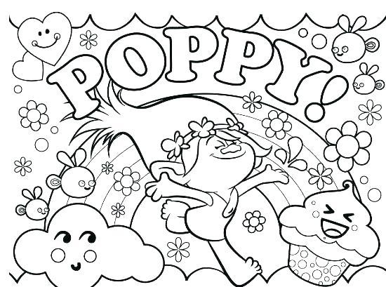 550x409 Trolls Coloring Book Trolls Coloring Page Trolls Elves