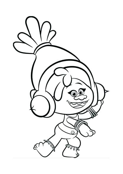 418x591 Trolls Coloring Page Printable Coloring Page Trolls Trolls