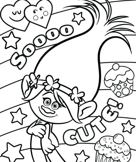 461x550 Trolls Coloring Pages Guy Diamond