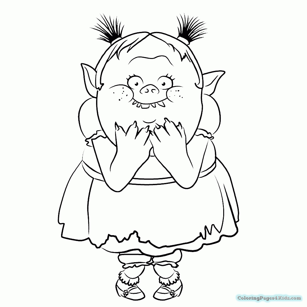 1000x1000 Delivered Dreamworks Trolls Coloring Pages Images Free Coloring