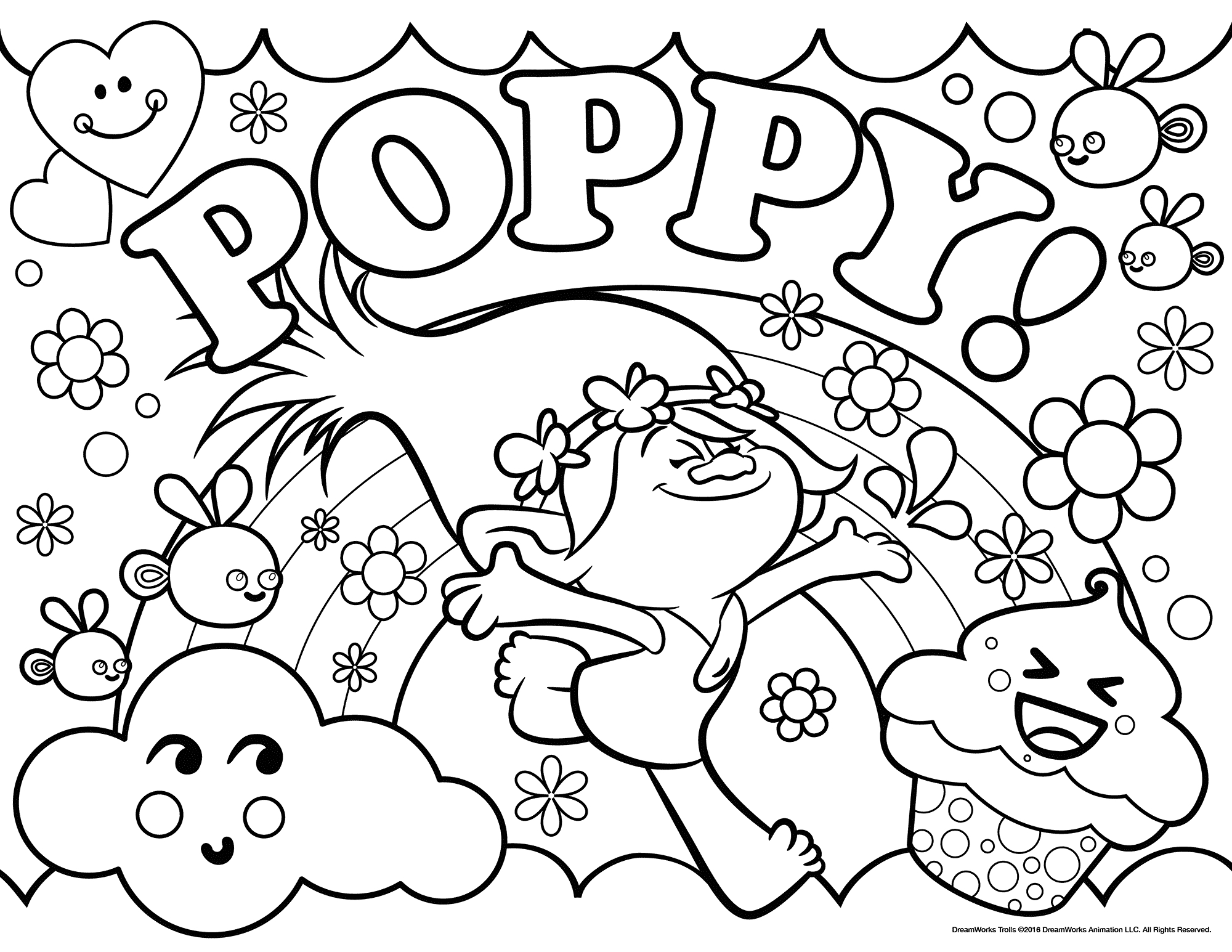 2000x1545 New Movie Coloring Pages Trolls Wecoloringpage With Movies Free