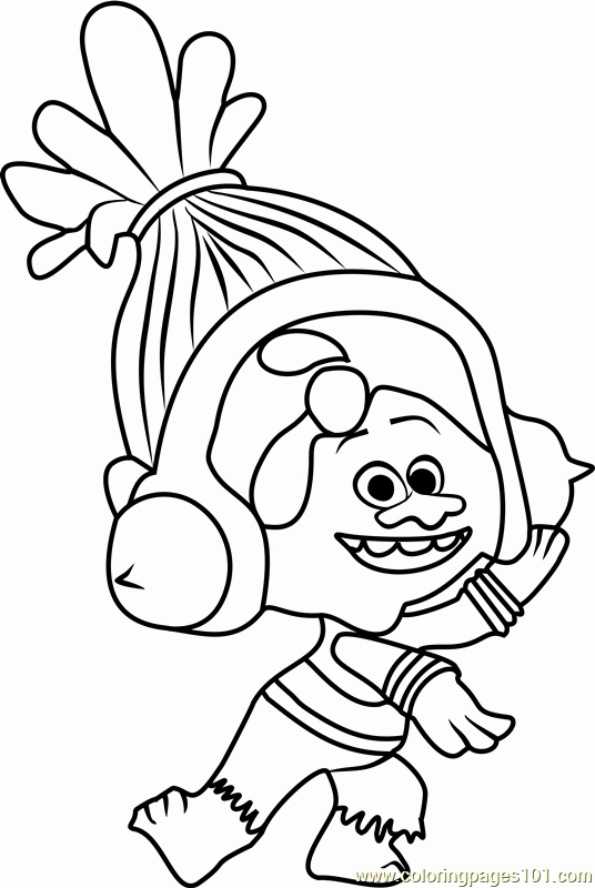 536x800 Trolls Movie Coloring Pages Images Dj Suki From Trolls Coloring