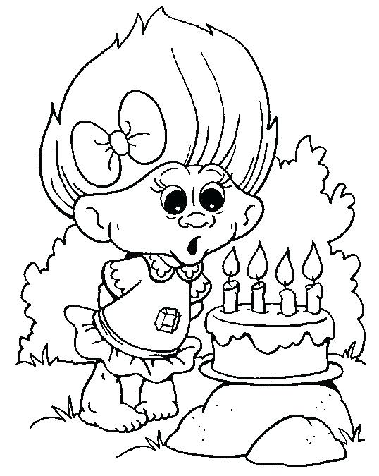 538x675 Trolls Movie Free Coloring Pages Trolls Coloring Kit Plus Troll