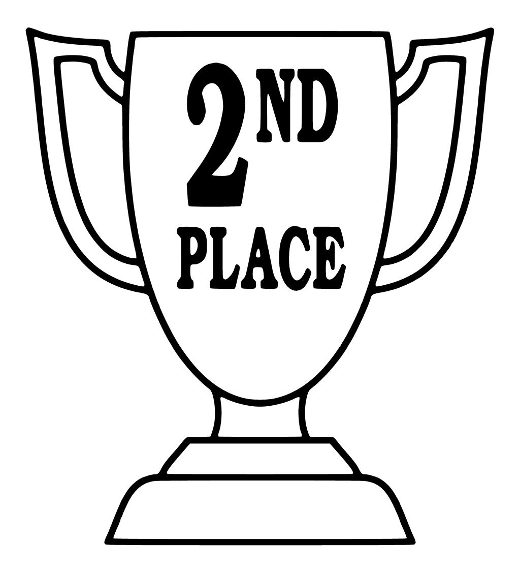 1024x1125 Place Trophy Coloring Pages
