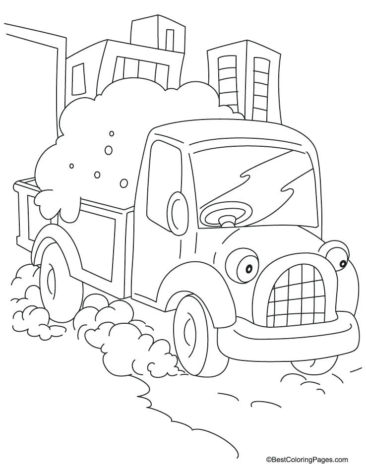 738x954 Truck Coloring Sheets Cars Truck Coloring Pages Truck Coloring