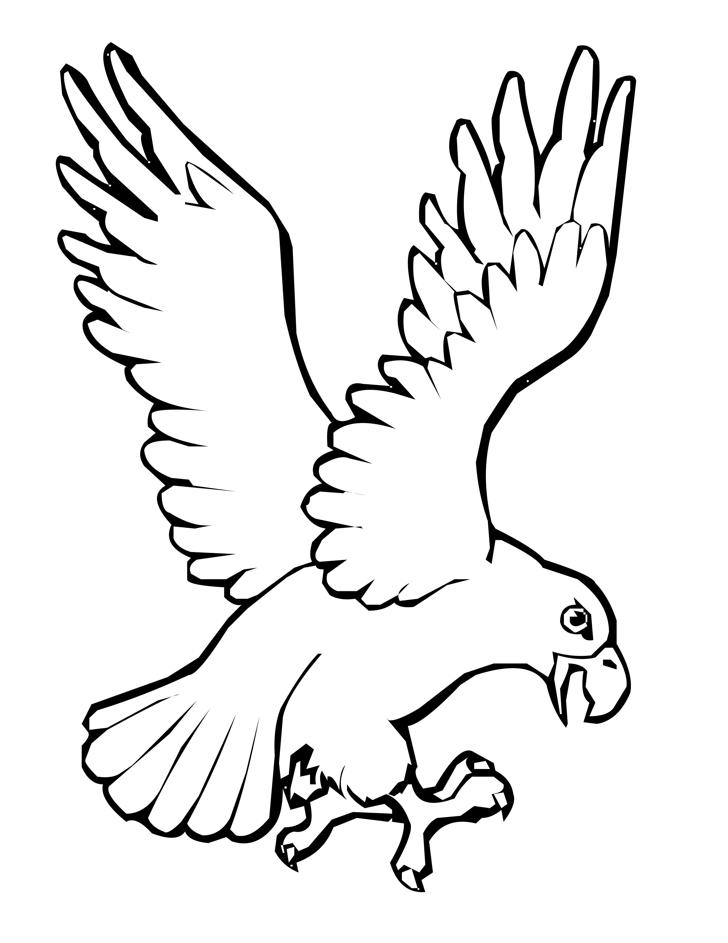 2550x3300 Bird Coloring Pages