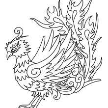 220x220 Tropical Bird Coloring Pages