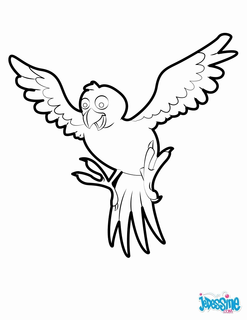 820x1060 Coloring Pages Free To Print New This Tropical Bird Coloring Page