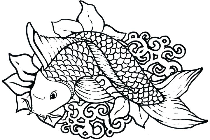 720x480 Tropical Flowers Colouring Pages Coloring Pages Fish Packed