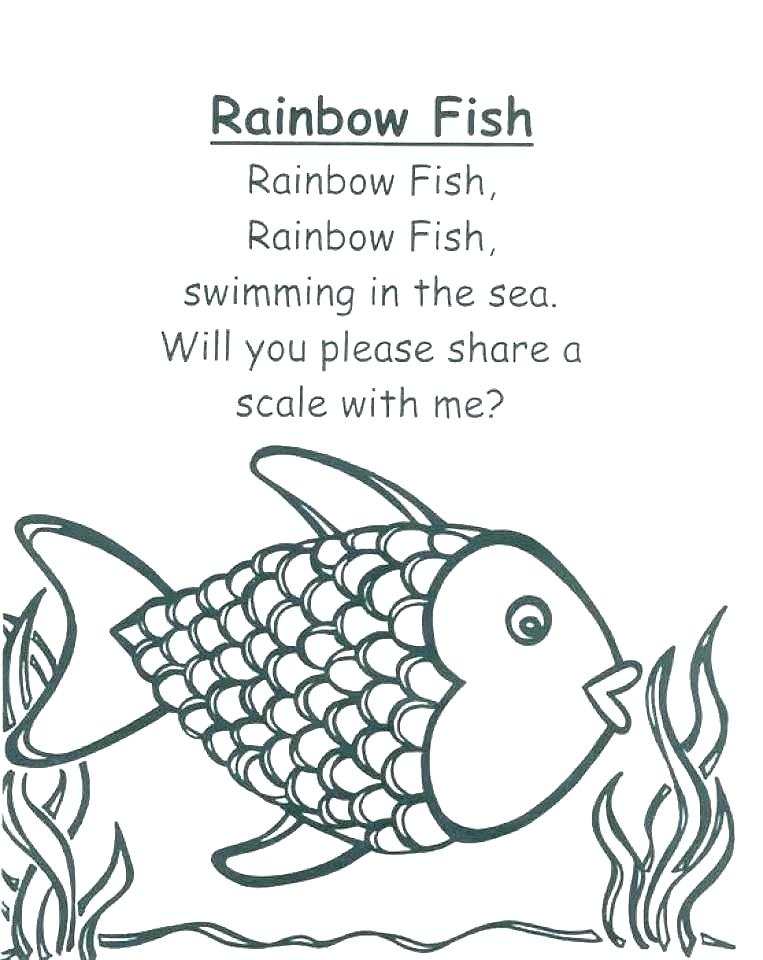 763x960 Fishing Coloring Pages Printable Fish Coloring Book Fish Coloring