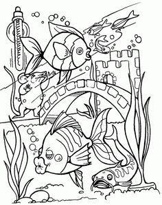 236x298 Printable Coloring Sheets Marine Fish At Tropical Fish Coloring