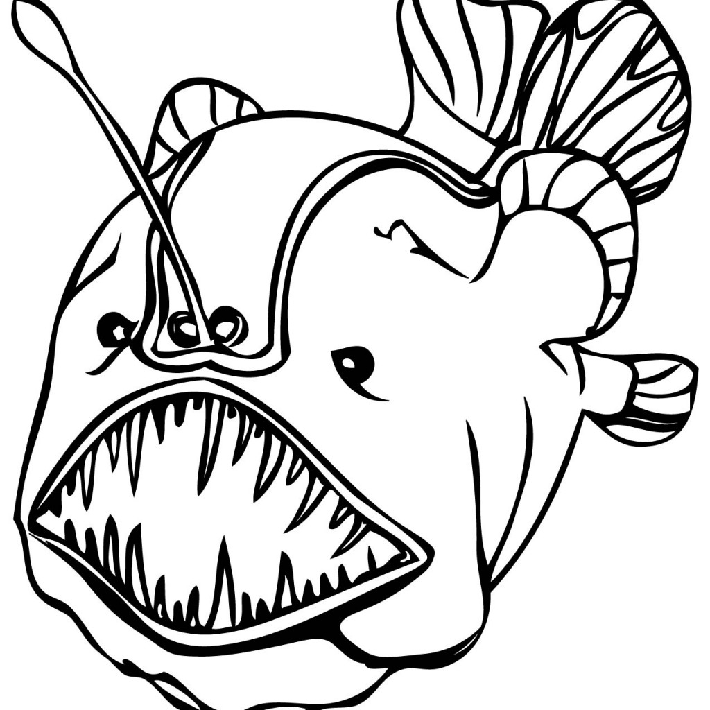 1024x1024 Tropical Fish Coloring Pages Coloring Page Fish Unique Tropical